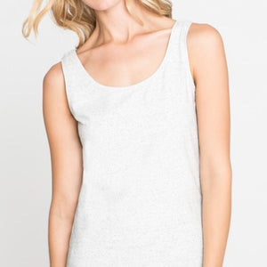 PERFECT TANK TOP PAPER WHITE  BY NIC+ZOE