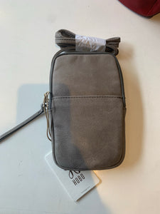 Fate Crossbody in Bag in Titanium by Hobo Handbags