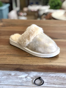 Snooze Slipper in Gold by Corky's
