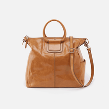 Load image into Gallery viewer, Sheila Travel Bag in Honey by Hobo Handbags