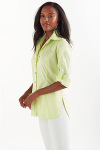 Joey Shirt in Lime Green by Finley
