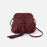 Leather Birdie Bag in Port by Hobo Bags
