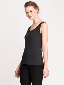 PERFECT TANK TOP BLACK ONYX  BY NIC+ZOE