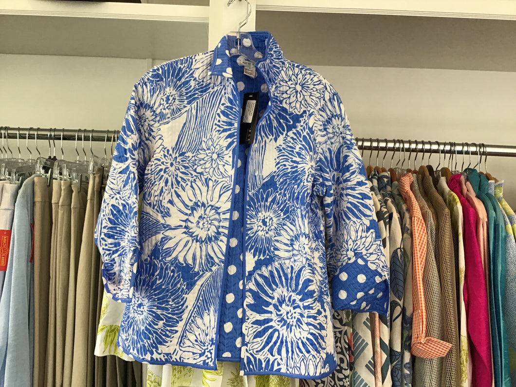 Reversible Paris Jacket in Picasson Bloom by Patty Kim