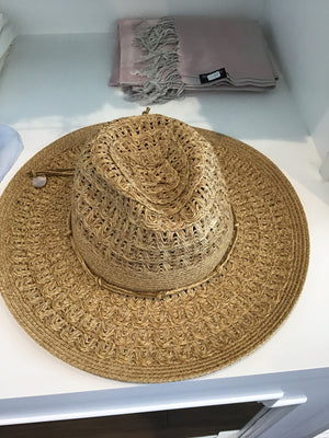 Denby hat in Natural by Pia Rossini DEN00722