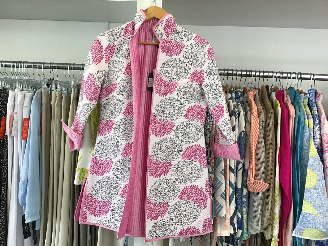 Madison Jacket in Pink Crysanthemum by Patty Kim