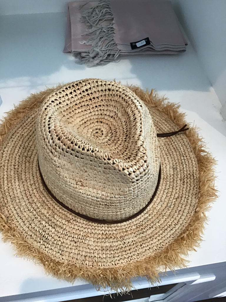 Raya hat in Natural by Pia Rossini