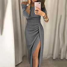 Load image into Gallery viewer, Off Shoulder  Backless  Evening Bodycon Dresses