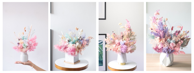 Preserved flowers vase design guide for floral mikelle
