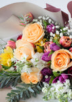 Singapore best florist floral mikelle fresh flower bouquet with a floral design in cheerful colors ideal for birthdays anniversaries and mothers day