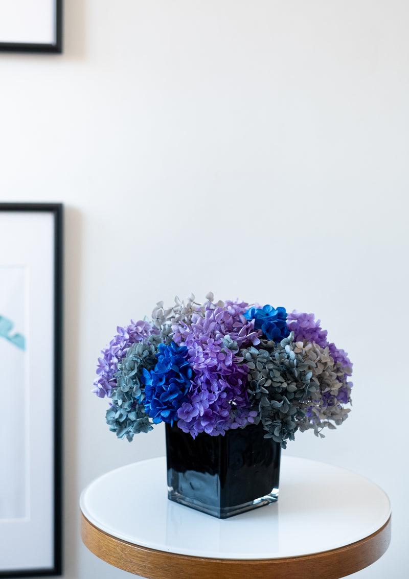 Home decor preserved hydrangeas perfect for father's day gifting in singapore