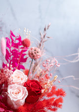 Lovely and beautiful red and pink for mothers day flowers in singapore with free delivery