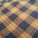 Butterscotch Plaid Bandana