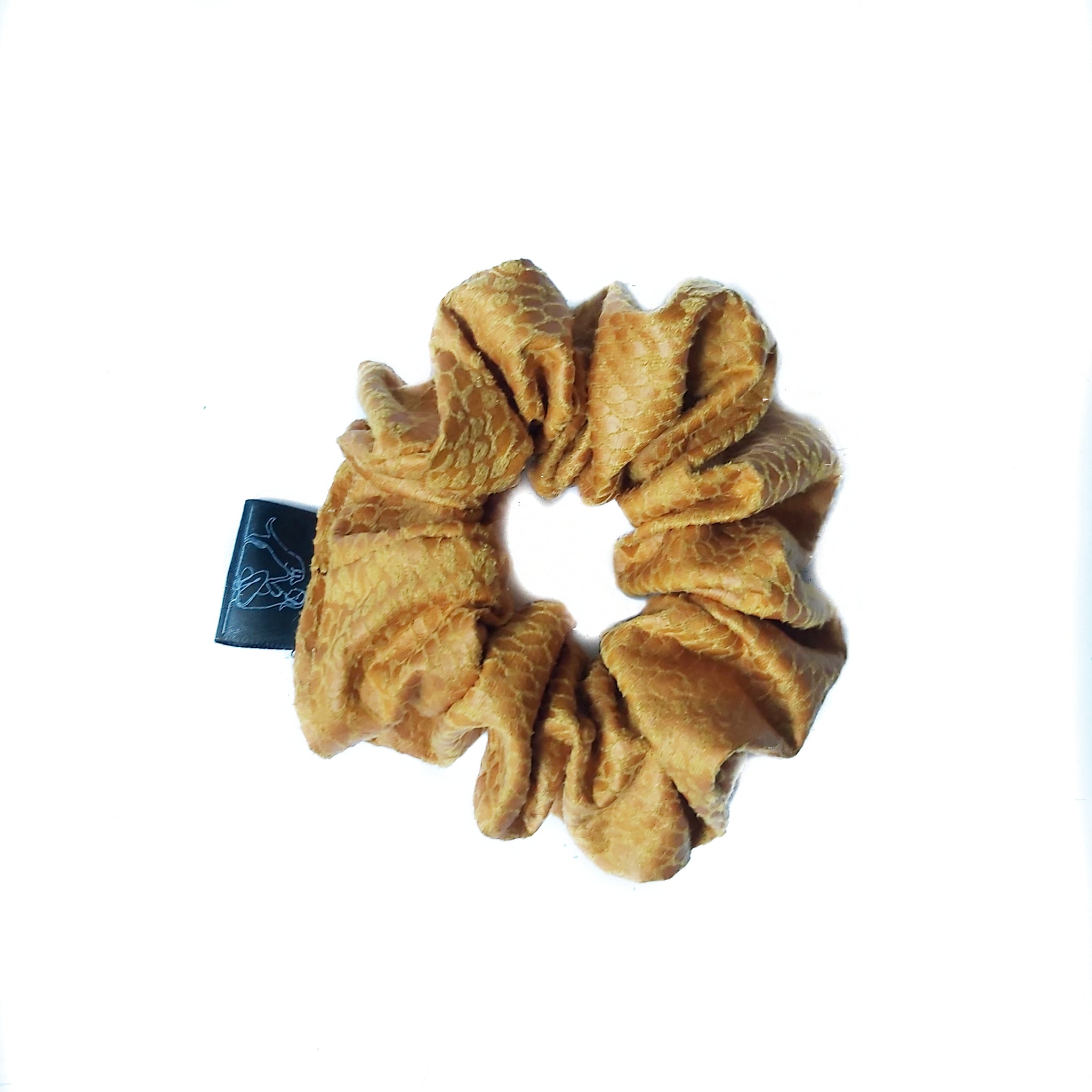 Mustard Yellow Scrunchie