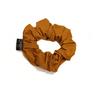 Mustard Yellow Velour Scrunchie