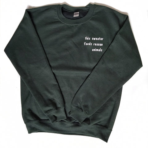 Forest Green Crewneck