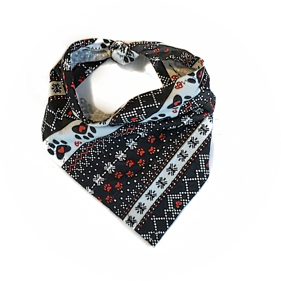 Hearts and Paws Bandana