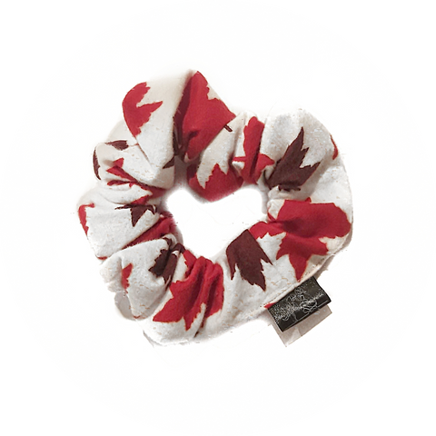 Canada Day Scrunchie