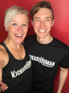 KICKASS HUMAN T-shirts (Men's & Women's)