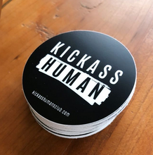 Load image into Gallery viewer, Kickass Human (pack of 50 stickers)