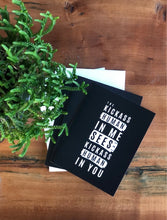 Load image into Gallery viewer, The Kickass Human In Me Sees The Kickass Human In You Greeting Cards (Set of 5)
