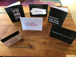 All Five Greeting Cards (Set of 5, 1 greeting card each; Quantity: 5)