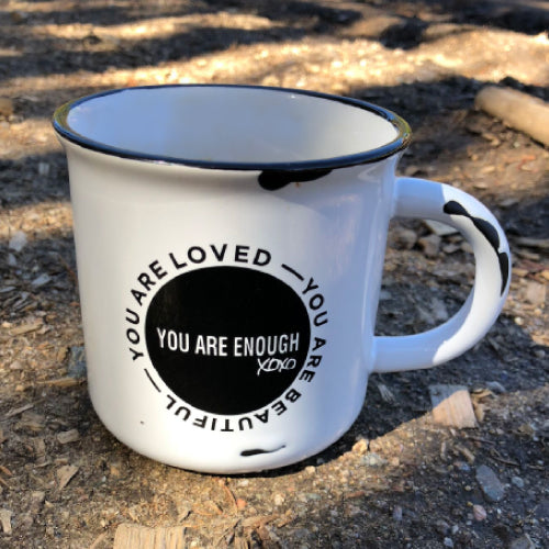 YOU ARE ENOUGH Coffee Mug