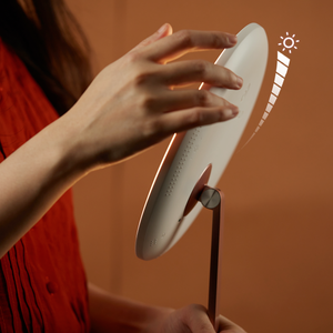 Bello: Most Elegant Rechargeable Round LED Makeup Mirror