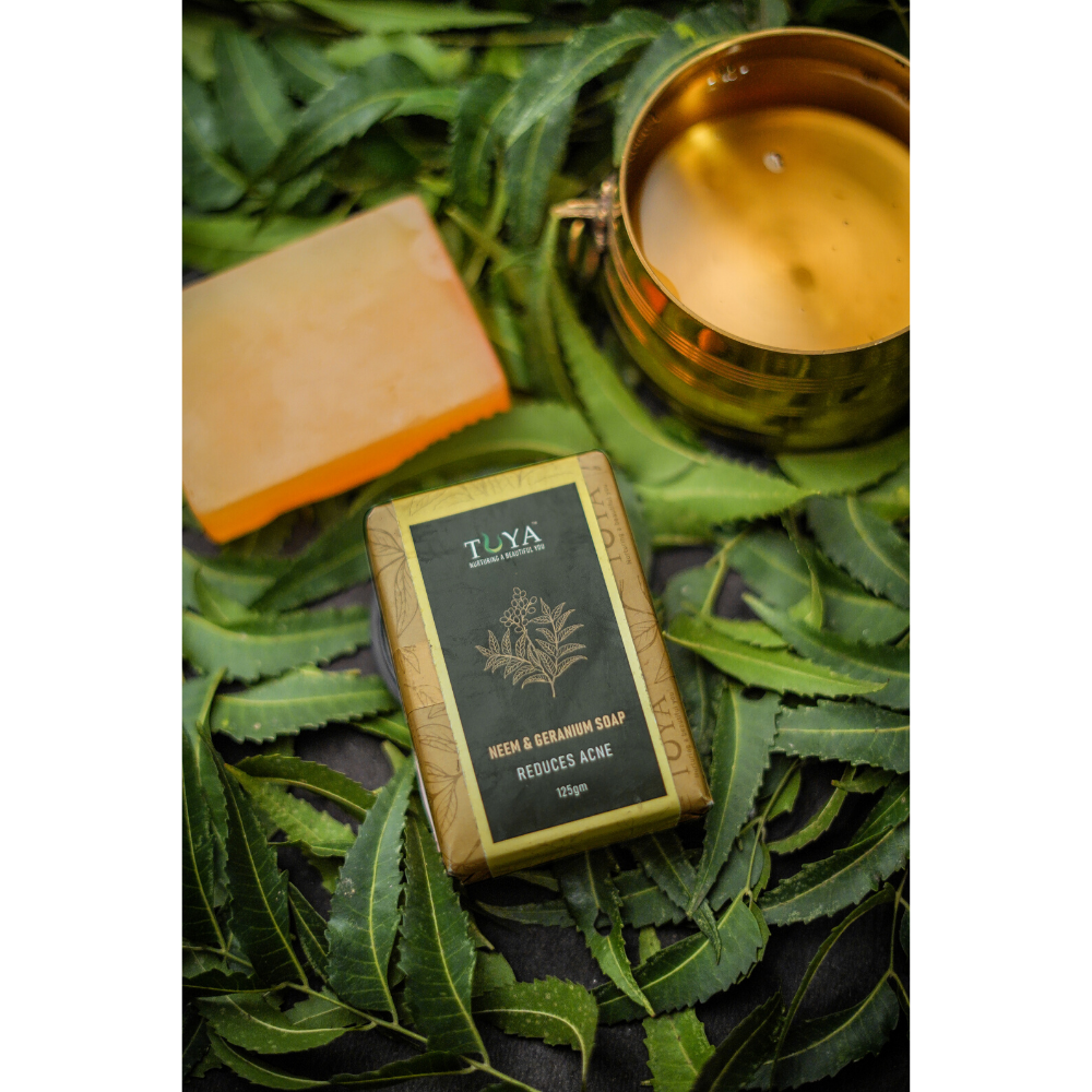 Neem And Geranium Soap