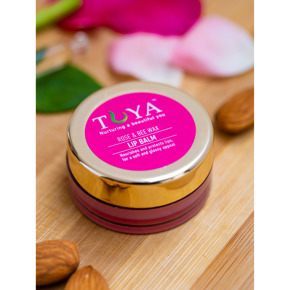 Rose and Bee Wax Lip Balm