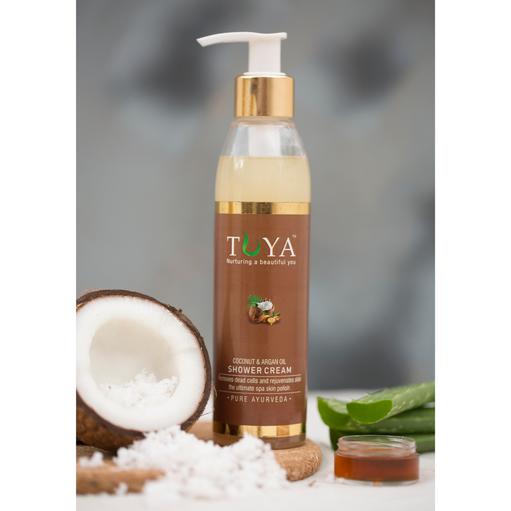 Coconut Milk and Argan Oil Shower Cream