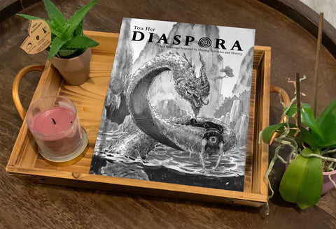 Diaspora book cover Mock up