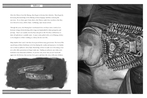 Silver Page Layout