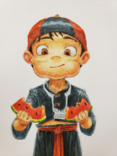 Load image into Gallery viewer, Watermelon boy
