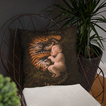 Load image into Gallery viewer, Tiger Born Pillow