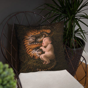 Tiger Born Pillow
