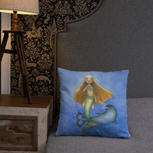 Load image into Gallery viewer, The Narwhal Princess Pillow