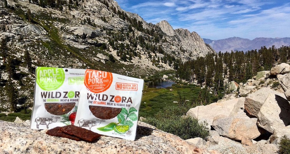 wild zora snacks on mountain trail