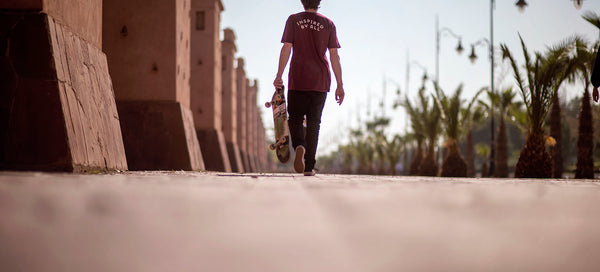 From Morocco to South America  : A Skateboarding Journey With Hugo Papillon