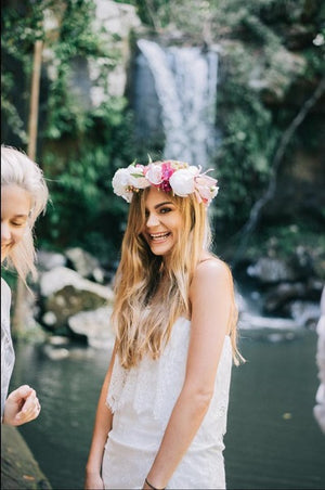 Boho Flower Crown Party
