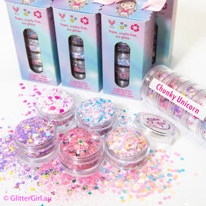 Glitter Girl Chunky Unicorn Collection