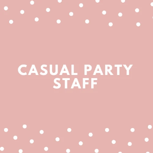 Casual Party Staff