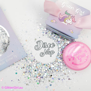 Glitter Girl Unicorn Glitter - Disco Nap
