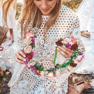 Boho Flower Crown Picnic