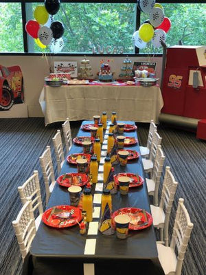 Lightning McQueen Party Package