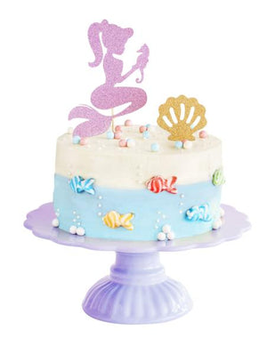 kids birthday party cake diy kit mermaid theme - Kids Events & Co.