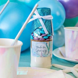 Mermaid Themed Cookie Mix Party Favour