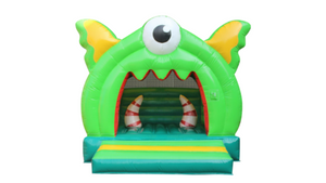 Monster jumping castle