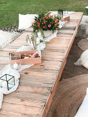 Luxe Meets Moroccan Rustic Picnic