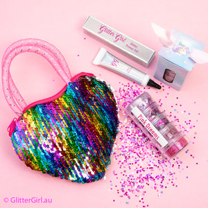 Pink Dreams Sequin Bag Party Favour
